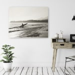 BW Surfer No. 3 Canvas Giclee - 2