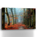 Bussum In Fall Canvas Giclee - 3