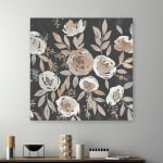 Midnight Blooms Canvas Giclee - 2