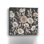 Midnight Blooms Canvas Giclee - 3