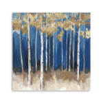 Midnight Indigo Canvas Giclee - 1