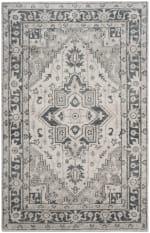Safavieh Palace Gray & Ivory Rug - 1