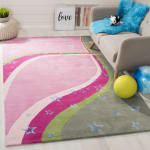 Safavieh Pink & Green Swirl Rug - 1