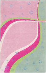 Safavieh Pink & Green Swirl Rug - 3