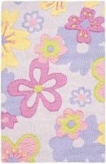 Safavieh Purple Flowers Rug - 2