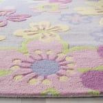 Safavieh Purple Flowers Rug - 3