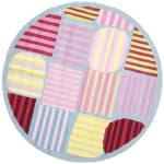 Safavieh Striped Square Rug - 1