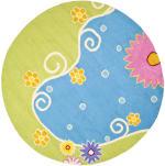 Safavieh Blue & Green Floral Rug - 3