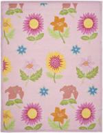 Safavieh Floral Pink Kids Rug - 5