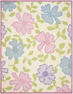 Safavieh Pink & Blue Floral Kids Rug - 2