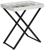 Safavieh Stellar Gray Butler Table - 2