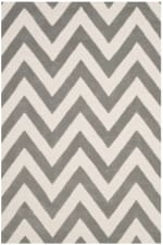 Safavieh Gray Chevron Rug - 1