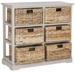 Safavieh Brayden Gray 6 Basket Storage Chest - 3