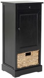 Safavieh Jason Tall Black Storage Cabinet - 4