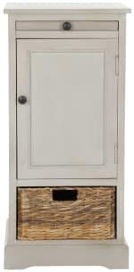 Jason Tall Gray Storage Cabinet - 2