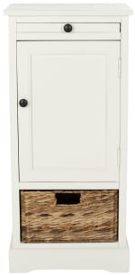 Safavieh Jason Tall Ivory Storage Cabinet - 2