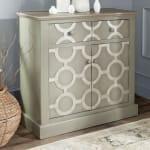 Safavieh Gray Oliver Cabinet - 2