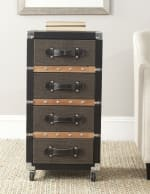 Safavieh Xavier 4-Drawer Rolling Chest - 1