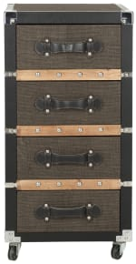 Safavieh Xavier 4-Drawer Rolling Chest - 2