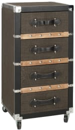 Safavieh Xavier 4-Drawer Rolling Chest - 3