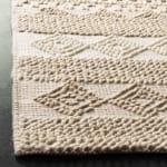 Safavieh Tan Wool Rug - 7