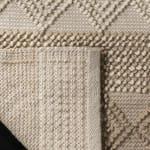 Safavieh Tan Wool Rug - 8