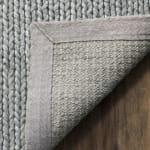 Silver Wool Rug Chipley - 10