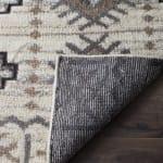 Brown Wool Rug - 4