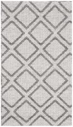 Silver Wool Rug - 3