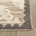 Safavieh Brown Wool Rug - 7