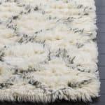 Safavieh Ivory Wool Rug - 6
