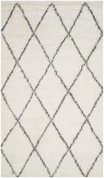 Safavieh Ivory Wool Rug - 2