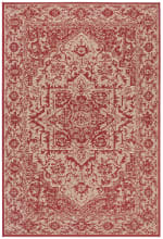Red Polypropylene Rug - 5