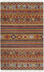 Multicolored Wool Rug - 2
