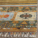 Multicolored Wool Rug - 3