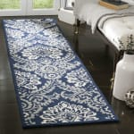 Safavieh Navy Wool Rug - 1
