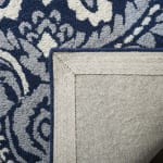 Safavieh Navy Wool Rug - 4