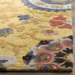 Safavieh Gold Wool Rug - 6