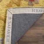 Safavieh Gold Wool Rug - 7
