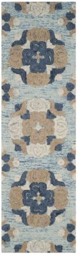 Safavieh Blue Wool Rug - 2