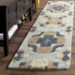 Safavieh Blue Wool Rug - 1