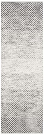 Gray Cotton Rug - 1