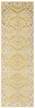 Safavieh Yellow Wool Rug - 1