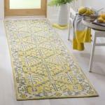 Safavieh Yellow Wool Rug - 2