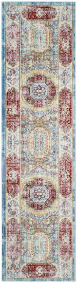 Safavieh Blue Polyester Rug - 1