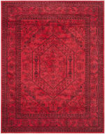 Safavieh Red Polypropylene Rug - 2