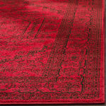 Safavieh Red Polypropylene Rug - 3