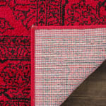 Safavieh Red Polypropylene Rug - 4