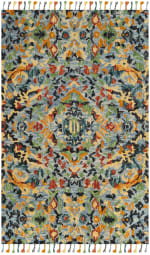 Safavieh Morgan 452 2' X 3' Blue Wool Rug - 1