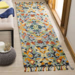 Safavieh Morgan Blue Wool Rug - 1